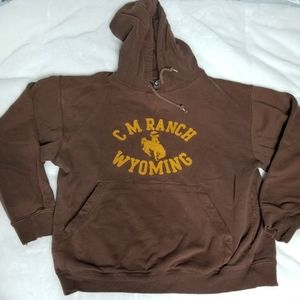 Ouray CM Ranch Wyoming Hoodie, Size Sm